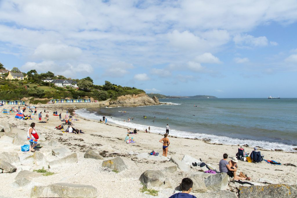 Swanpool Beach in Falmouth Cornwall