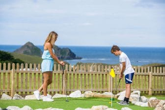 Holywell Bay Mini Golf